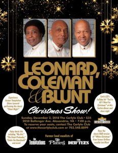Temptations Christmas.Celebrate Christmas At The Carlyle Club With Lcb The Former